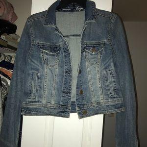American Eagle jean jacket (cropped)